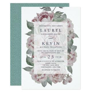 English Garden Wedding Invitation