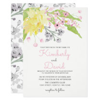 english garden wedding invitations