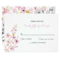 english garden wedding invitations rsvp cards