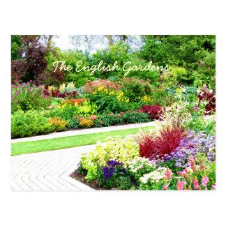 English Garden's Postcard