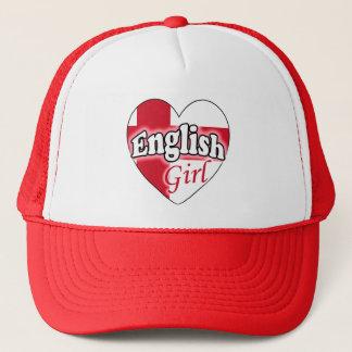English Girl Trucker Hat