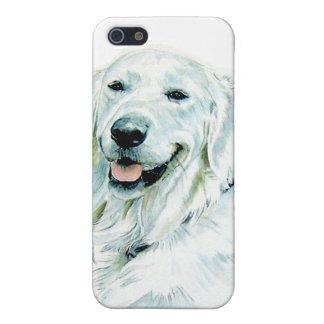 English Golden Retriever iPhone SE/5/5s Case