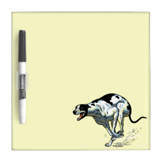 english greyhound Dry-Erase boards