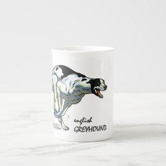 english greyhound porcelain mugs
