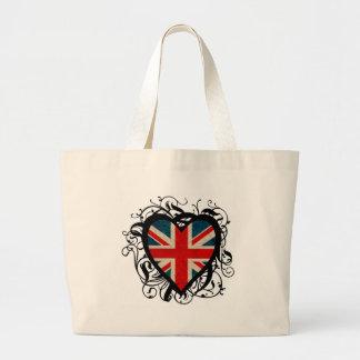 English Heart Bag