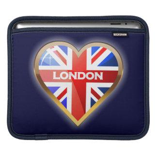 English Heart iPad Sleeve