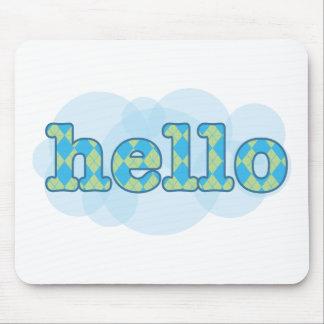 English - Hello Mouse Pad