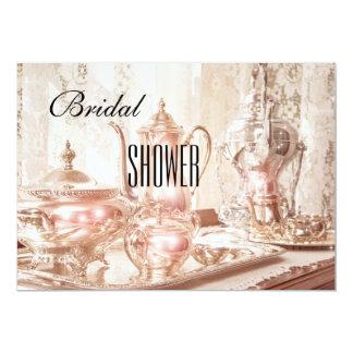 English High Tea Bridal Shower Invitation
