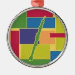 English Horn Colorblocks Ornament
