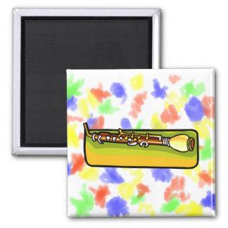 English Horn, Oboe Family horizontal Refrigerator Magnets