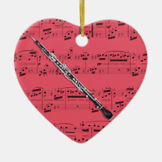 English Horn - Pick your color Ceramic Ornament