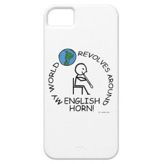 English Horn - World Revolves Around iPhone SE/5/5s Case