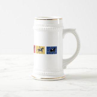 English Horse and Rider Coffee Mug
