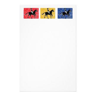English Horse and Rider Stationery