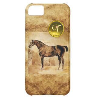 ENGLISH HORSE IN STABLE MONOGRAM iPhone 5C CASE