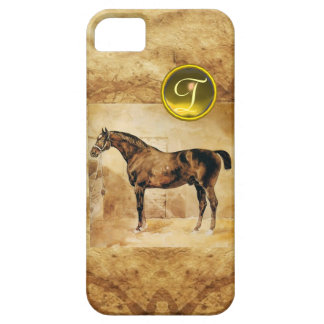 ENGLISH HORSE IN STABLE MONOGRAM iPhone SE/5/5s CASE