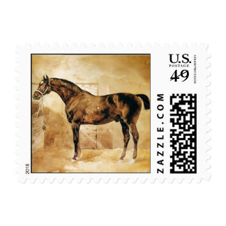 ENGLISH HORSE IN STABLE POSTAGE