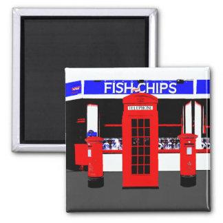 English Icons Magnet