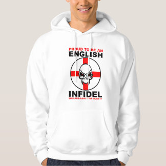 English Infidel - England Love It Or Leave It Hoodie