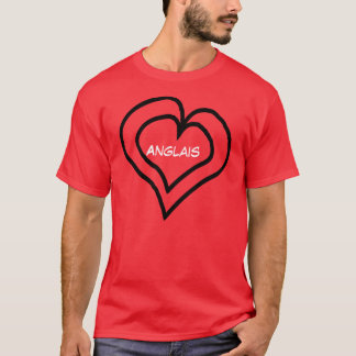 English is in my heart T-Shirt