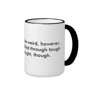 English is weird ringer mug