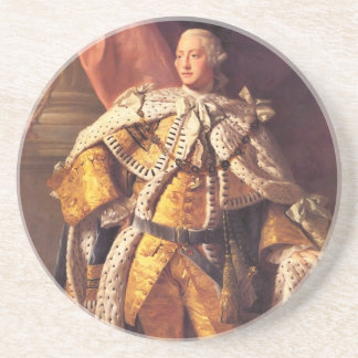 English King George III by Studio of Allan Ramsay Drink Coaster