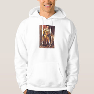 English King George III by Studio of Allan Ramsay Hooded Pullover