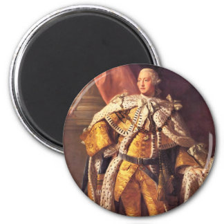 English King George III by Studio of Allan Ramsay Magnets