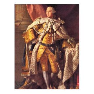 English King George III by Studio of Allan Ramsay Postcard
