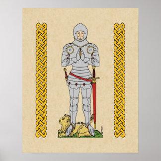 English Knight, Circa 1430, Poster