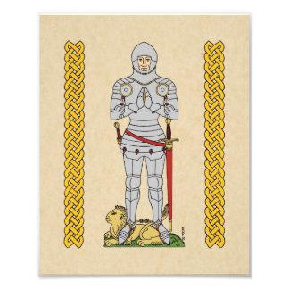English Knight, Circa 1430, Print