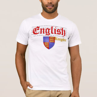 English Knights (Battle of Crécy) T-Shirt