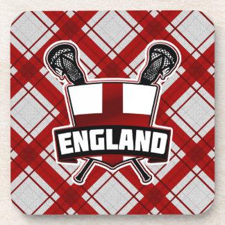 English Lacrosse Logo Cork Coasters