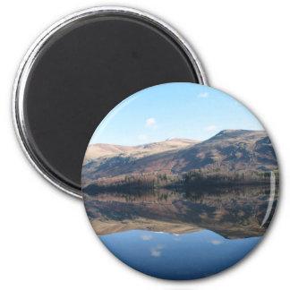 English Lake District 2 Inch Round Magnet