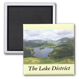 English Lake District 2 Inch Square Magnet