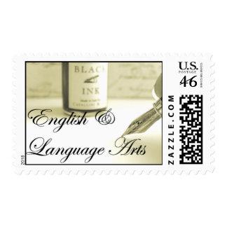 English & Language Arts Stamp