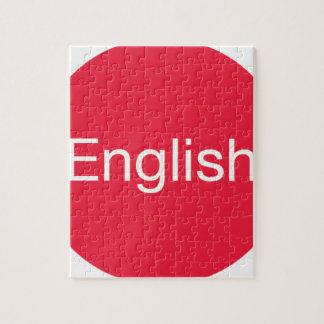 English Language Jigsaw Puzzle