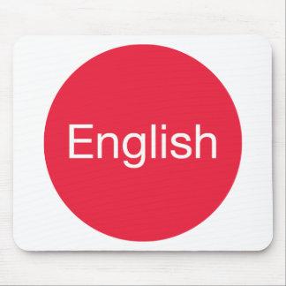 English Language Mouse Pad