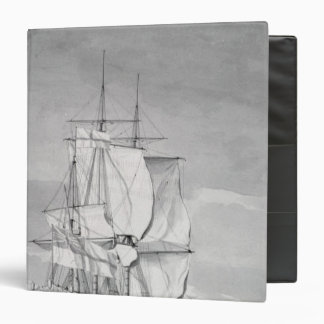 English Line-of-Battle Ship, 18th century Binder