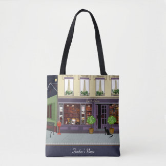 English Literacy Teacher gift Personalized Tote Bag