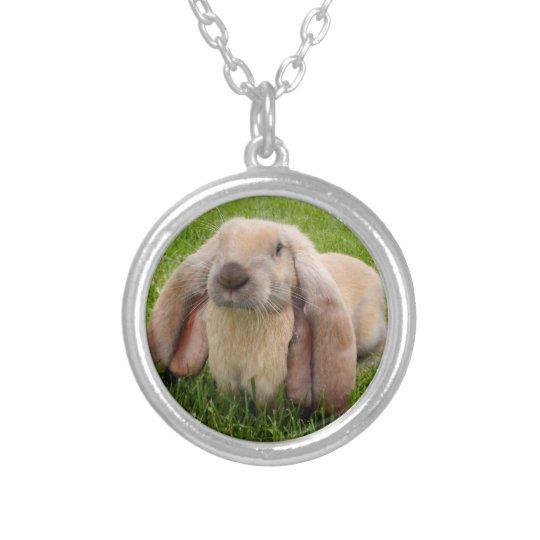 English Lop Rabbit Necklace