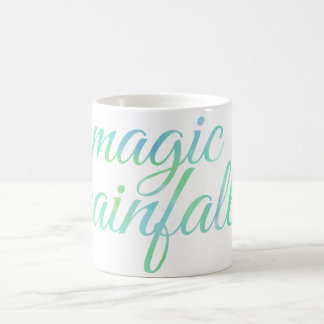 English MAGIC RAINFALL in Watercolor Coffee Mug