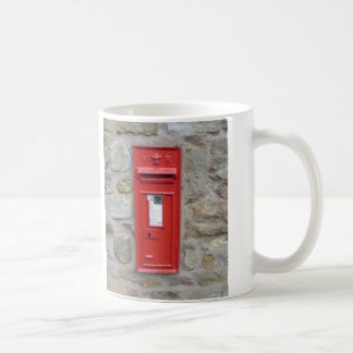 English mailbox coffee mug