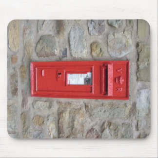 English mailbox mouse pad