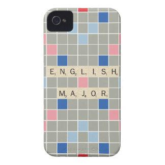 English Major iPhone 4 Case