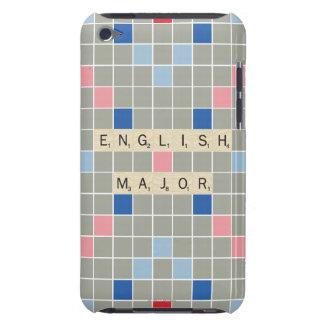 English Major iPod Case-Mate Case