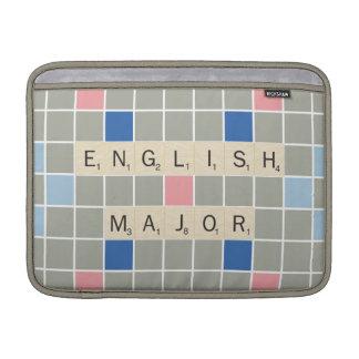 English Major MacBook Air Sleeve