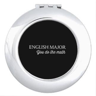English Major Vanity Mirrors