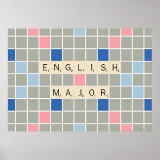 English Major Print