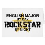 English Major Rock Star Card